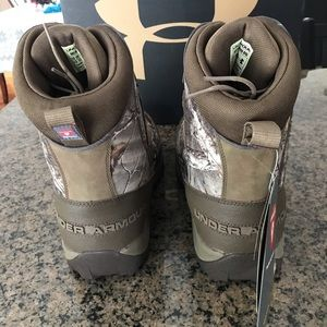Under Armour Shoes - Men's Under Armour Brown Tine 800 hunting boots